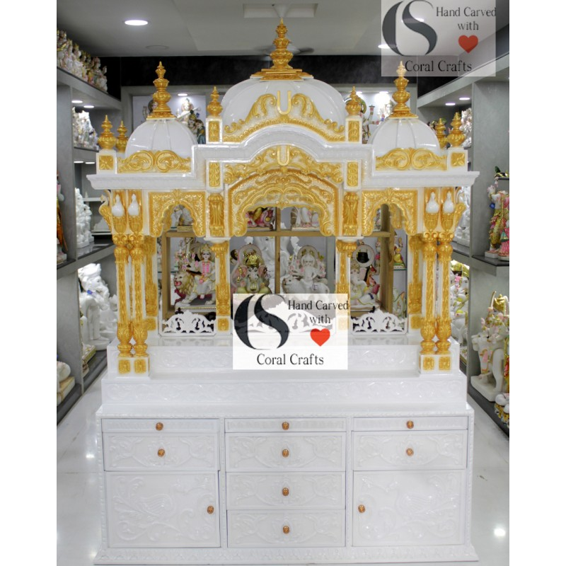 Wooden Altar for ISKCON Devotees