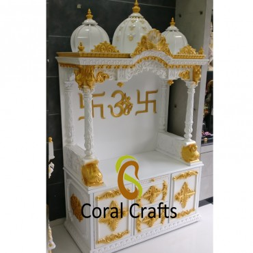 Gold and White Temple