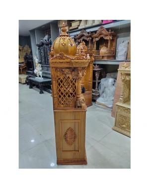 Wooden Mandir Side Section