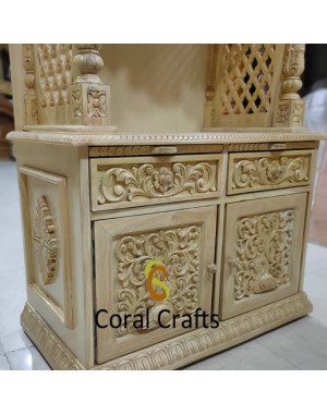 Wooden Temple Cabinet