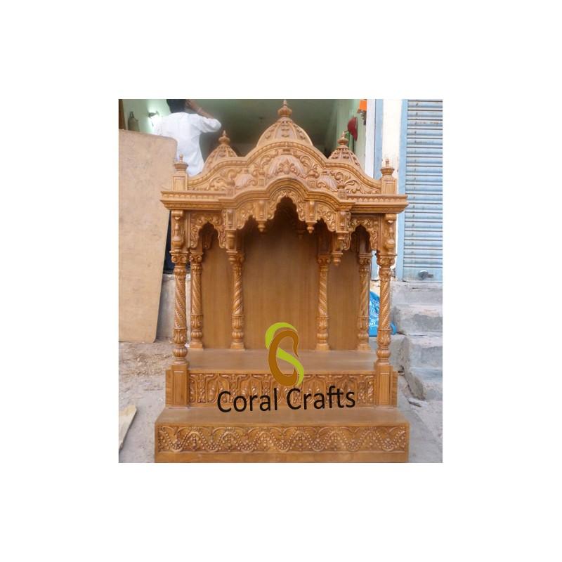 Hand Carved Traditional Hindu Temple