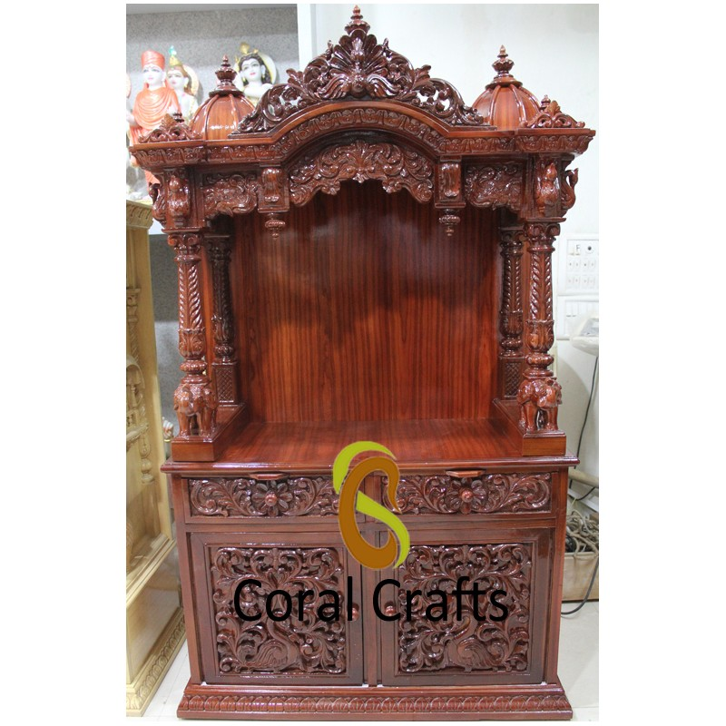 Wood Temple for Home