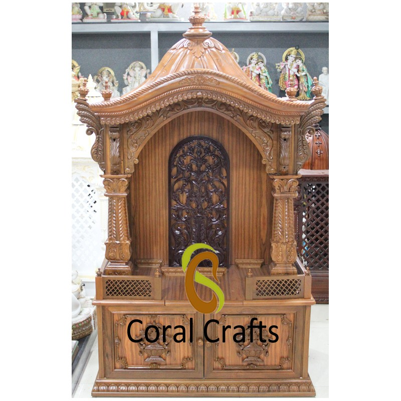Beautiful Wooden Akshar Deri
