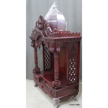 Sevan Wood Mandir with Cherry Polish