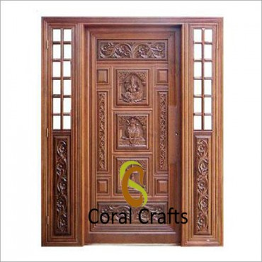 Traditional Doors For Pooja Room Coral Crafts