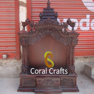 Indian Mandapam from Teak Wood