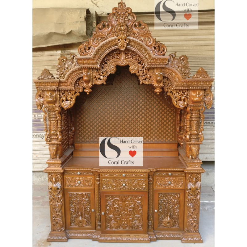 Masterpiece of Temple from Wood