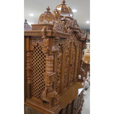 Unique Wood Temple