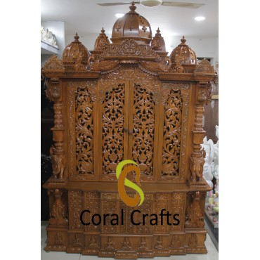 Unique Temple from Wood