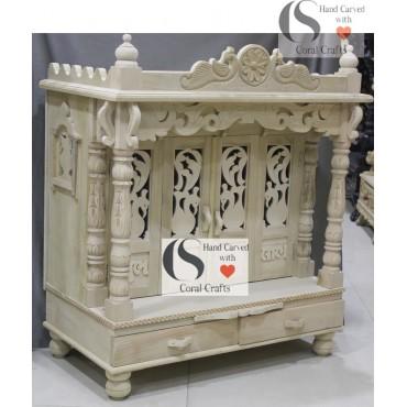 Wooden Mandir Manufacturer