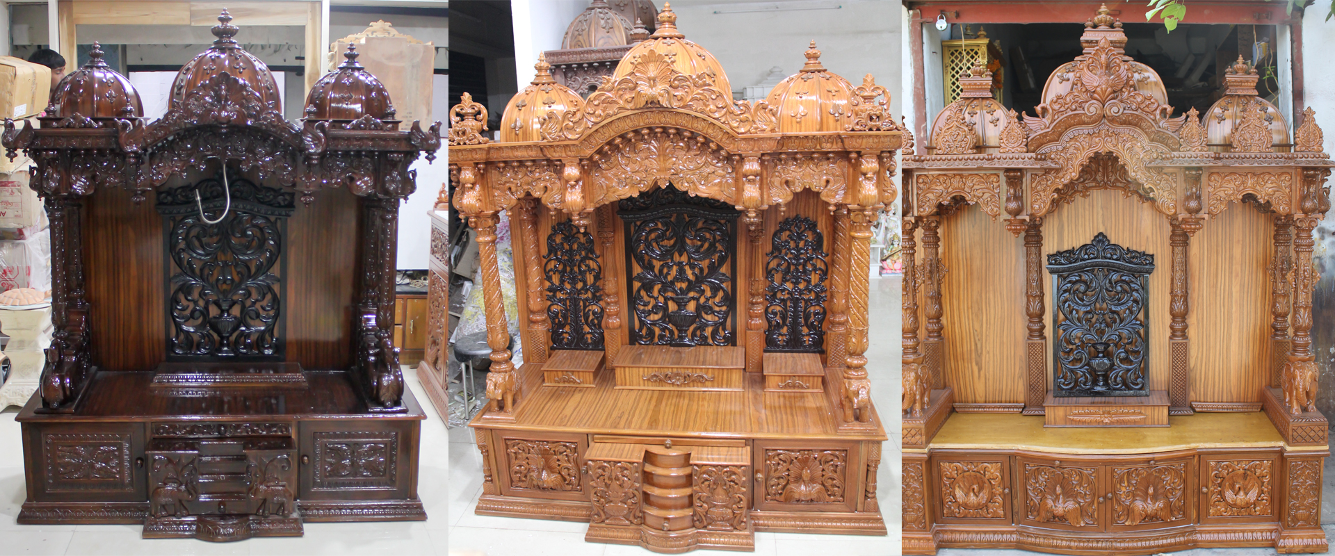 Wooden Temple Buy Wooden Temples And Wooden Mandir Online At A Reasonable Rates Coral Crafts